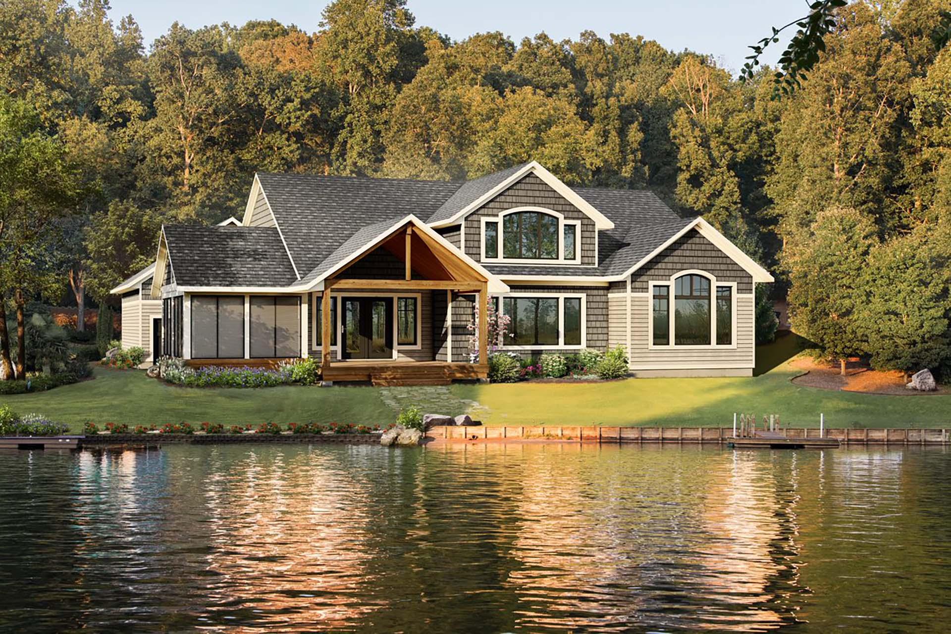 Cottage At Lake Del